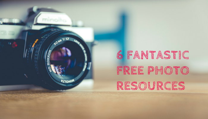 6 fantastic free photo resources for your website or blog