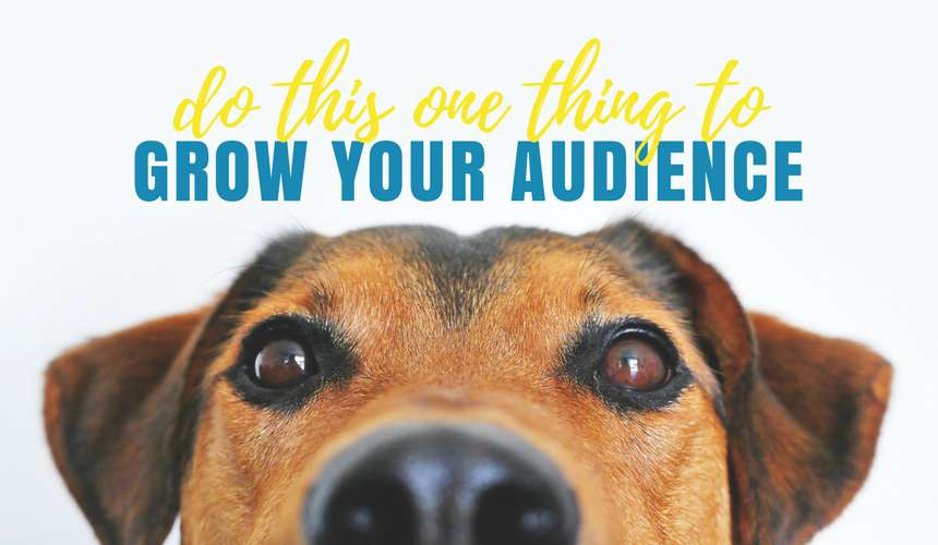 Do This One Thing to Grow Your Audience on Social Media