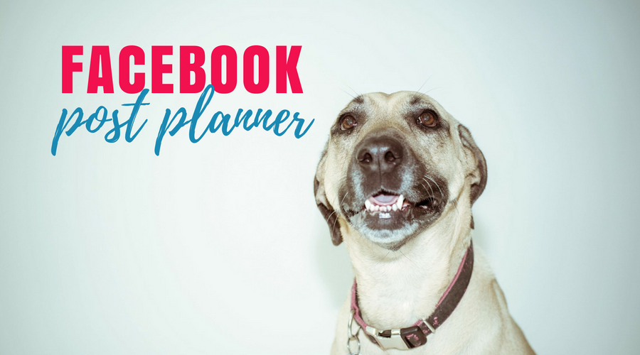 Free 30 day facebook post planner
