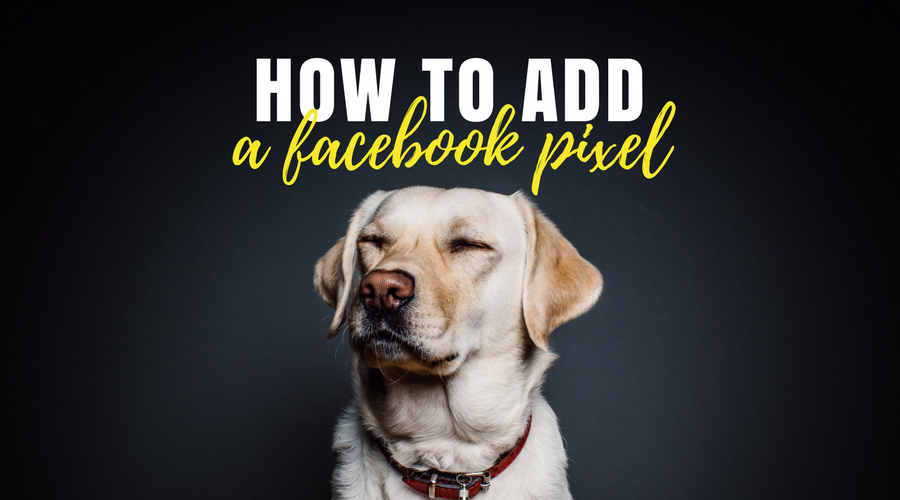 How to add a Facebook pixel