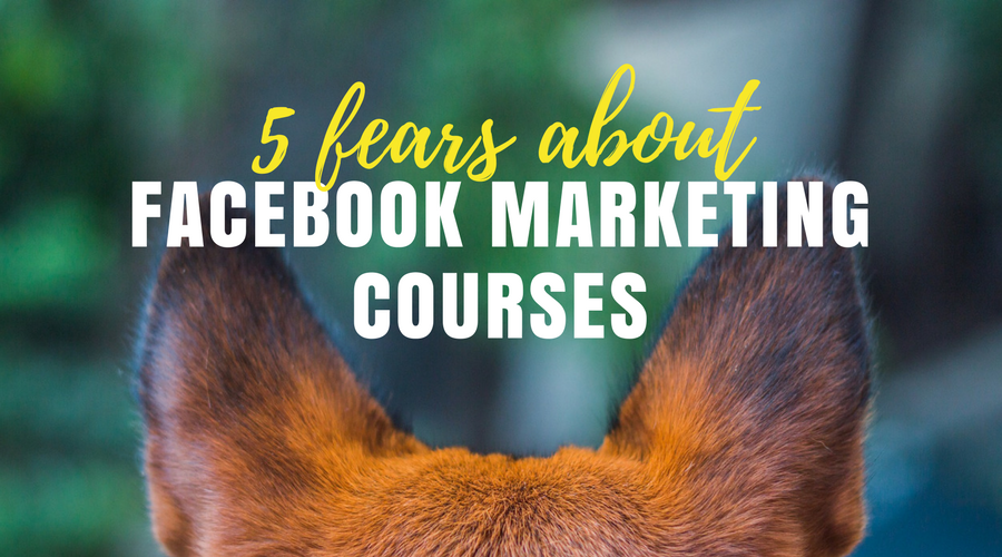 5 fears about facebook marketing courses