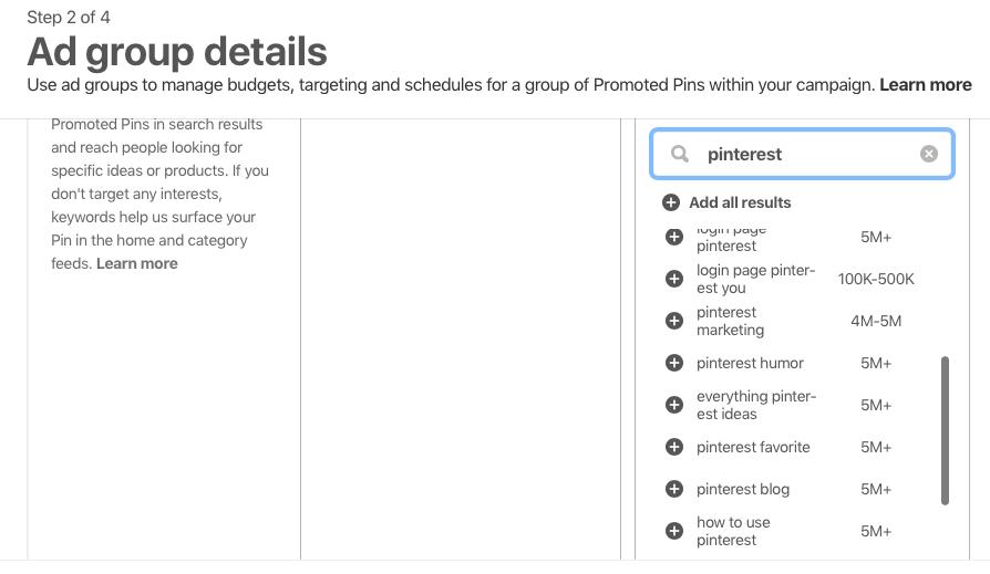 Pinterest Keyword Checker-1