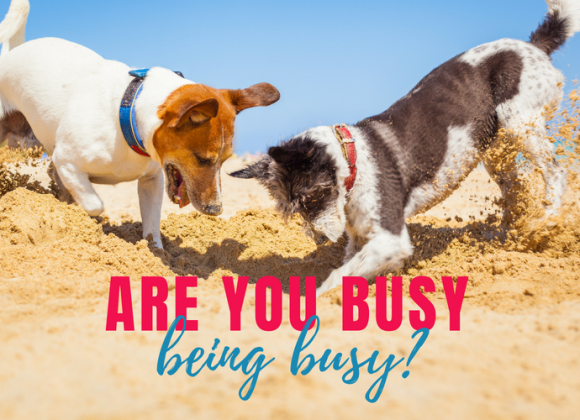 Are You Really Busy or Busy Being Busy?